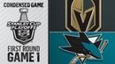 04/10/19 First Round, Gm1: Golden Knights @ Sharks