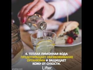 8 причин пить каждый день лимонную воду