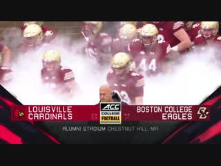 Ncaaf 2018 / week 07 / louisville cardinals - boston college eagles / en