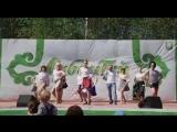 Наша танцевальная группа на Сабантуе