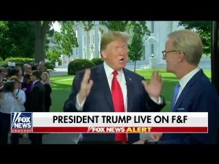 Trump praises Kim on Fox & Friends: 'I want my people to do the same'