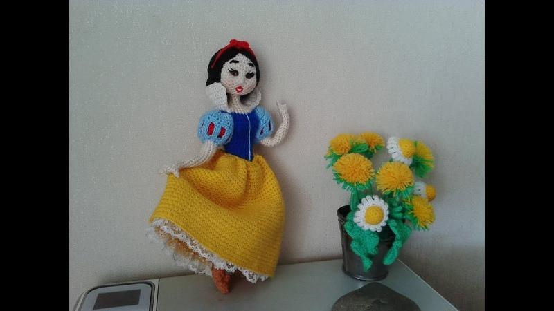 Белоснежка, ч.4. Snow White, р.4. Amigurumi. Crochet. Амигуруми. Игрушки крючком.