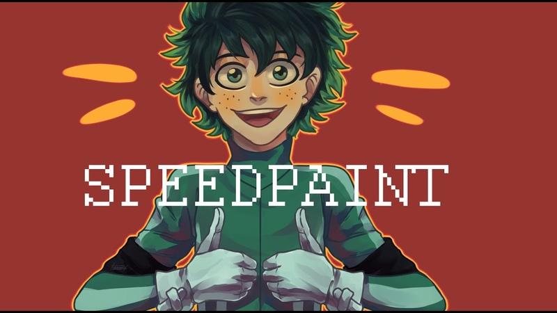 Speedpaint | BNHA | Midoria Izuku