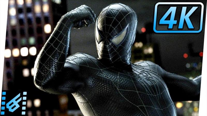 Spider-Man Gets Black Suit | Spider-Man 3 (2007) Movie Clip