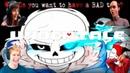 Реакция Летсплейщиков на Первую Атаку Санса в Игре Undertale Перезагрузка