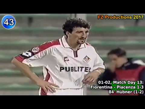 Dario Hübner - 74 goals in Serie A (part 22) 34-74 (Piacenza, Perugia 2001-2004)
