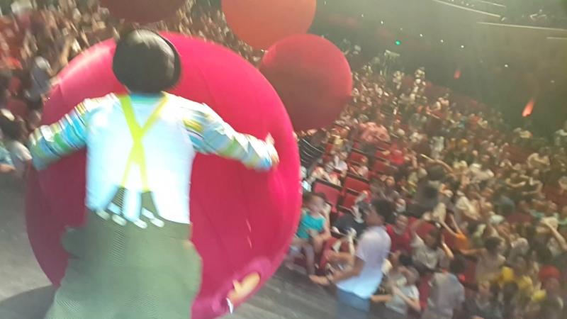 Гастроли. Клоунское шоу . Политеатр .28 городов центрального Китая .лето 2018