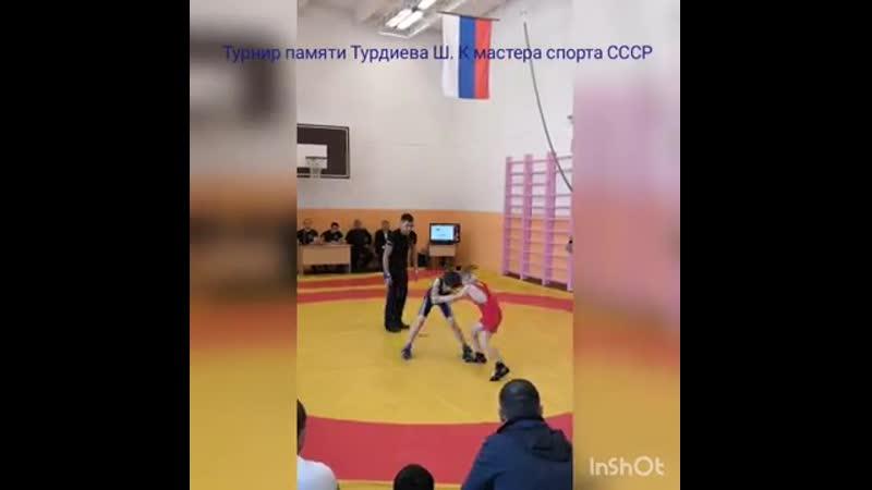 Турнир по греко римской борьбе памяти тренера Турдиева Ш К 16 02 2019