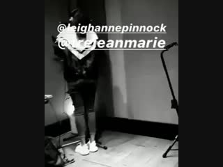 [INFO] This video of Leigh in the studio that we got a few months ago is a snippet of the song Told You So, as songwriter and pr