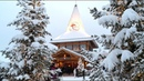 Santa Claus Village before Christmas home of real Father Christmas in Rovaniemi Lapland Finland