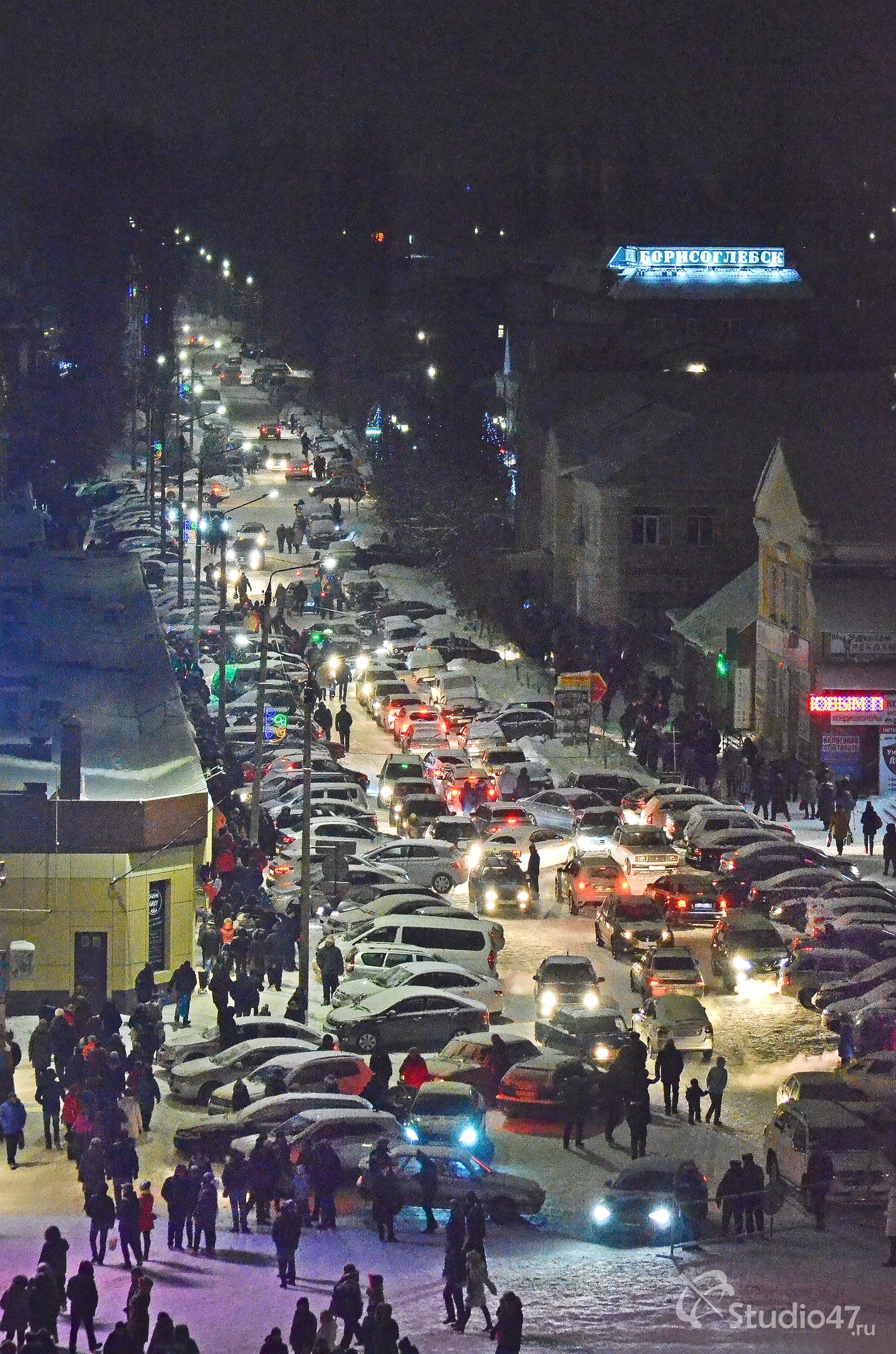 Улица Третьяковская в Борисоглебске Воронежской области