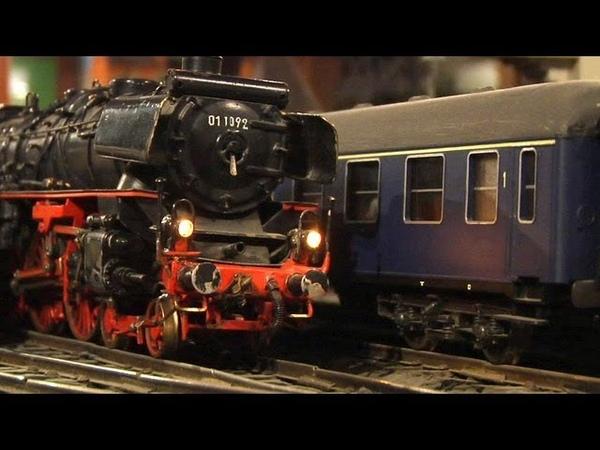 Die größte und älteste Modelleisenbahn in Spur 0 im Freizeitpark Eversum