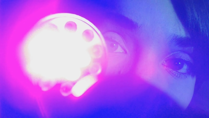 ASMR Light Triggers! Colored Lights, Soft Touches, Gloves