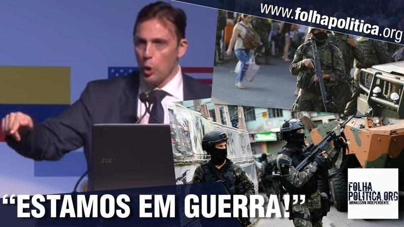 O Brasil está em GUERRA Promotor de Justiça faz grave alerta ao povo brasileiro veja vídeo