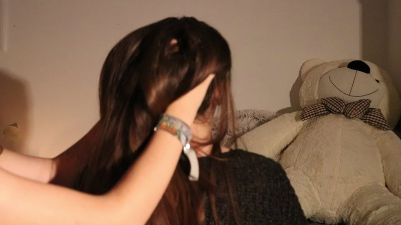 [ASMR] Scalp massage, Hair brushing and back scratching!
