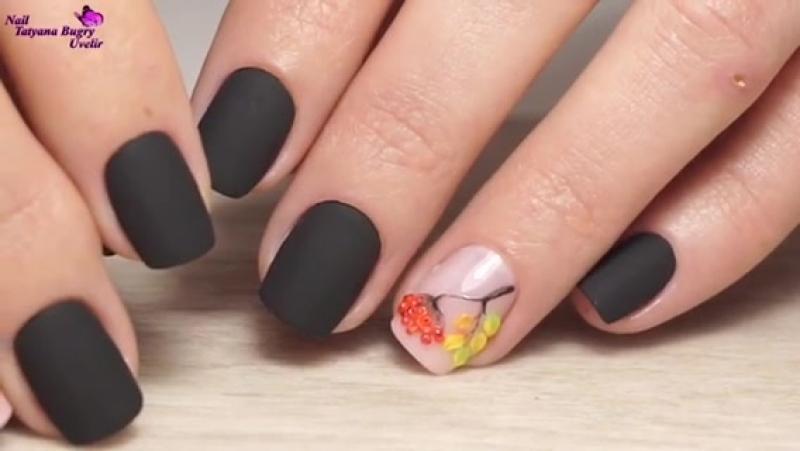 📌Осенний дизайн ногтей от мастера @tatyana_bugry🍂🍁 📌Товары использованные в видео: ●Ультрабонд ●Каучуковая база «Rubber Base» ●
