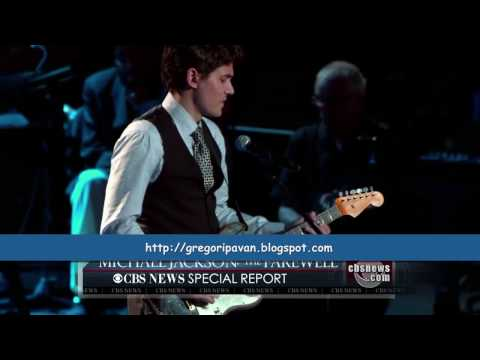 HD - Michael Jackson Tribute - John Mayer - Human Nature (High Definition)