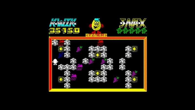 Kwik Snax 128k (1990) Walkthrough Review, ZX Spectrum