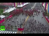 Caracas chaos: Soldiers scatter after loud explosion cut Maduro speech