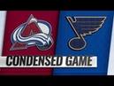 Colorado Avalanche vs St. Louis Blues   Dec.14, 2018   Game Highlights   NHL 2018/19   Обзор матча