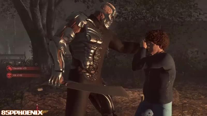 Friday the 13th game - Updated Machete X Kills! - Gameplay