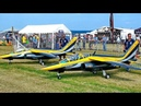 2X GIGANTIC XXXL SCALE 12,58 MODEL TWIN TURBINE ALPHAJET FLIGHT DEMONSTRATION