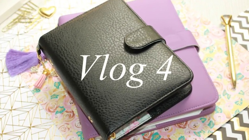 Vlog4/ Маленький черный планнер, шкатулки, покупки.