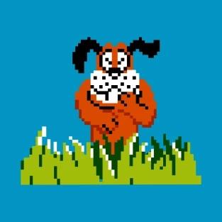 Играть за утку в Duck Hunt
