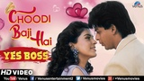 Choodi Baji Hai -HD VIDEO Shahrukh Khan &amp Juhi Chawla Yes Boss 90's Bollywood Romantic Song