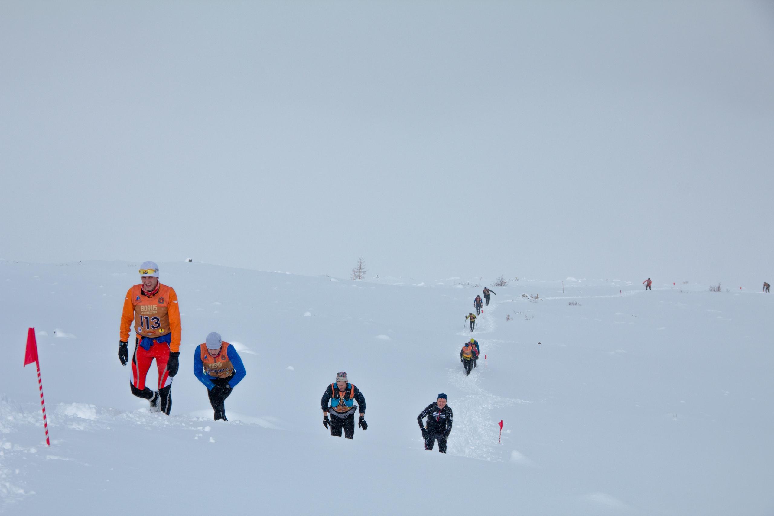Лидеры на плато. Фото: Павел Хорст