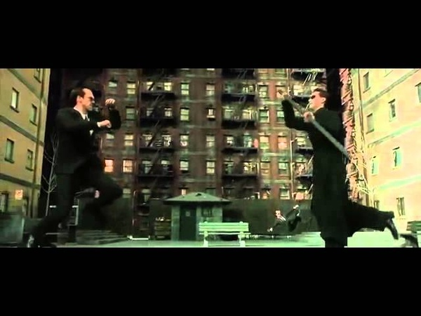 Matrix reloaded agents fight scene re sound