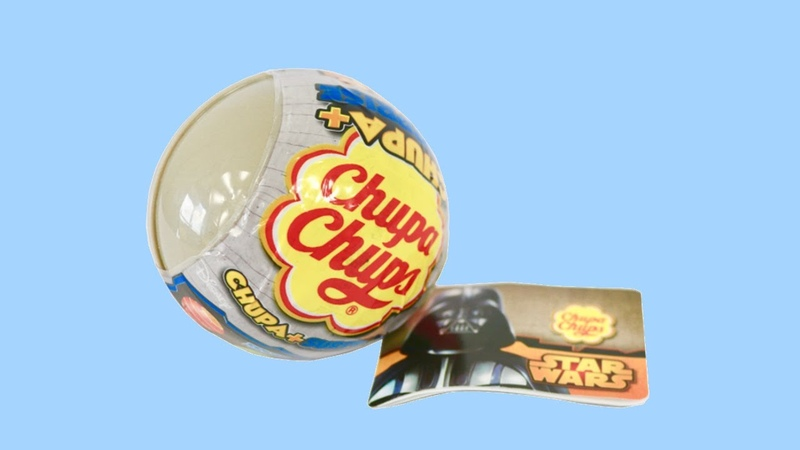 New 2018 unwrapping Chupa Chups Giant Surprise Ball Star Wars Surprise Eggs