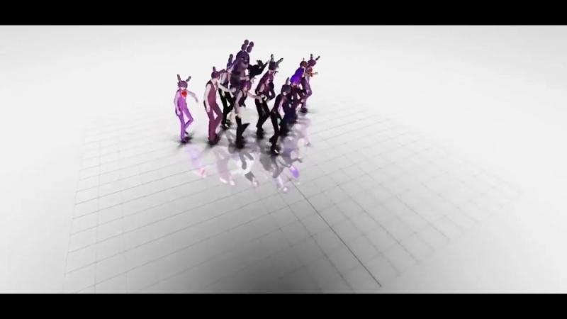 Аниматроники пять ночей с фредди аниме танцы 8.mp4