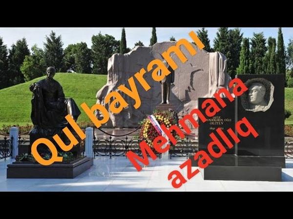 Heydərin heykəlinə Mehmana azadlıq yazdılar - SON DƏQİQƏ