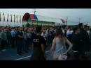 Фан-зона на Красной площади в Чебоксарах
