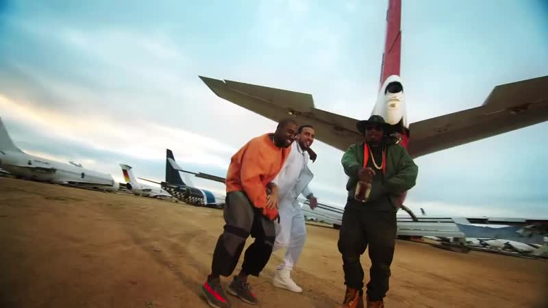 French Montana Feat. Kanye West Nas - «Figure it Out» (2016)
