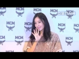 EVENT 180817 Hyomin - MCM Store Renewal Opening Event - Lotte Department Store