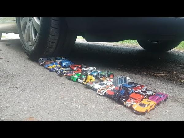 EXPERIMENT CAR VS 50 HOT WHEELS TOY CARS JANO TOYS