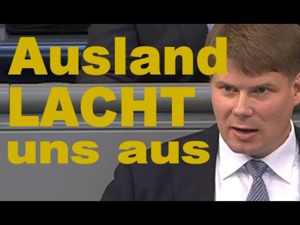 Das Ausland lacht uns unsere Öko Fanatiker aus - Bundestag