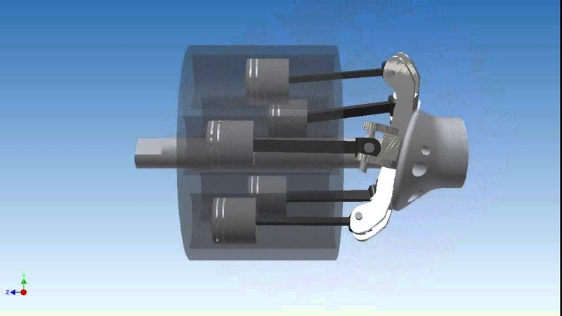 Duke Rotary Engine - Autodesk Inventor Animation Studio