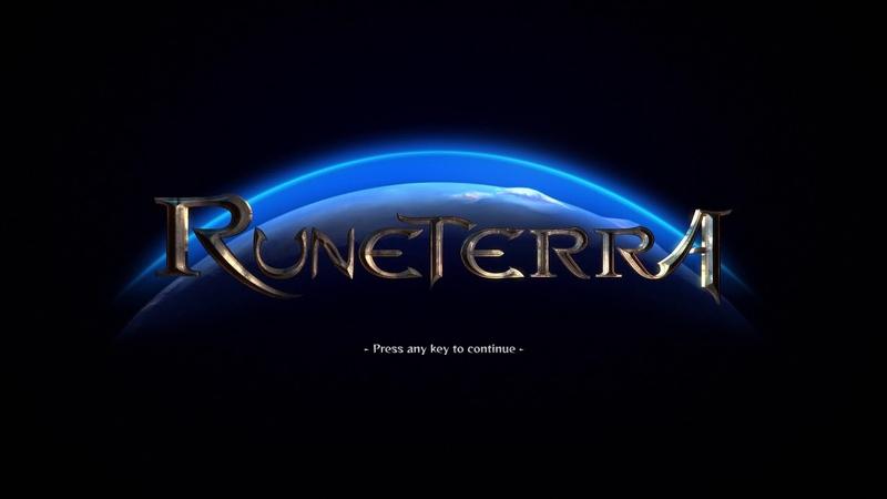 Runeterra Online - Main Screen [fanmade]
