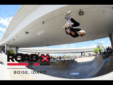 REPLAY Men's Skate Park Final at Road to X Games Boise Park Qualifier 2018