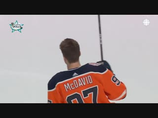 Connor mcdavid wins fastest skater | 2019 nhl all star competition