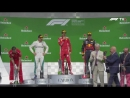 2018 Canadian Grand Prix Podium Ferrari