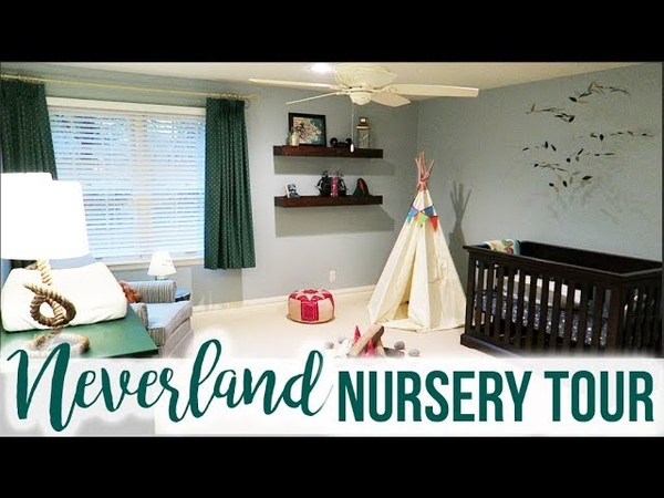 Neverland Peter Pan Nursery Tour!