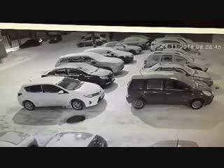 24.11 8.28 был совершён удар в Кио Рио автомобилем ВАЗ 2114