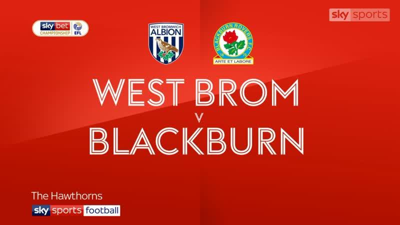 «Вест Бромвич Альбион» - «Блэкберн Роверс» 1:1 (Sky Sports)
