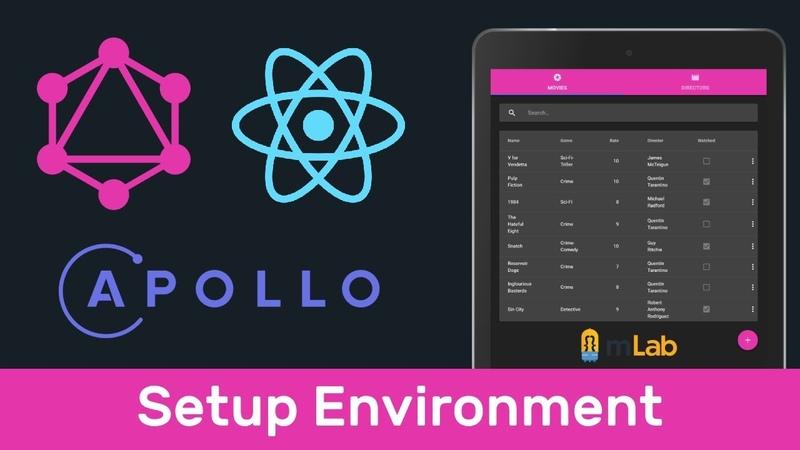 GraphQL 1 Установка окружения (Setup Environment)