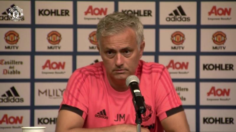 Jose Mourinho Press Conference - Manchester United v Club America