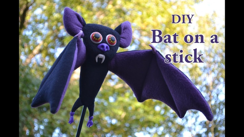 Halloween Special- How to make a DIY vampire bat puppet(Custom Foam Professional Puppets)
